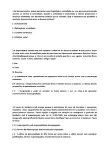 QUESTÕES OBJETIVAS DE LEGISLAÇÃO E NORMAS TÉCNICAS EM SEGURANÇA NO TRABALHO