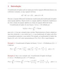 Transformada de Laplace   Teoremas e Exercicios Resolvidos