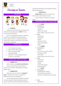 Prevenção ao Trauma Pediátrico