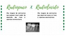 Radiopaco X Radiolúcido