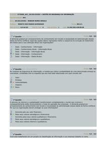 AV1 - Gestão de Segurança da Informação