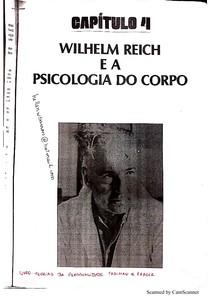 Wilhelm Reich e a Psicologia do Corpo