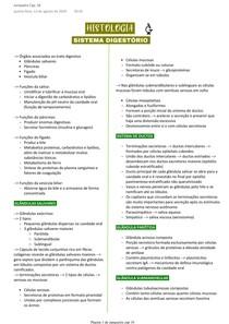 Histologia do sistema digestório - Cap 16 (Junqueira)