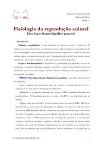 Fisiologia da reprodução e Exame ginecológico em vacas e éguas