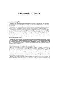 LIVRO AULA 3 - MEMORIA CACHE