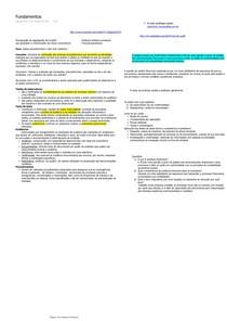 Anotações sobre Auditoria Financeira