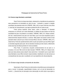 Pedagogia da autonomia(1)