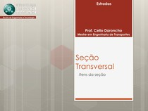 Aula 04 - Seção Transversal