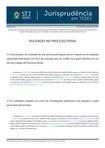 STJ   JURISPRUDÊNCIA EM TESES   Nulidades no Processo Penal