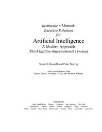 stuart russell peter norvig artificial intelligence a modern approach pdf