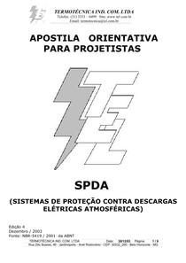 Instalações Elétricas - Sistemas de Proteção contra Descargas Atmosféricas - Termotécnica