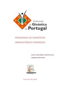 GA - PROGRAMA DE EXERCÍCIOS OBRIGATÓRIOS FEMININOS