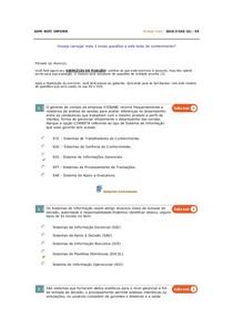 Administração de Sistemas de informação   AV 6   6º período