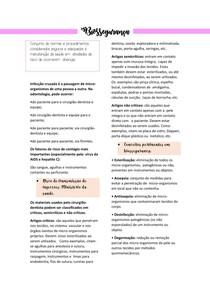 Biossegurança- Introdução a clínica odontológica.
