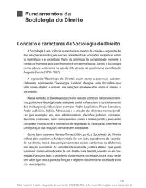 Fundamentos da Sociologia do Direito - Explicação