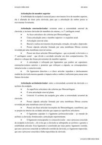ARTICULAÇÕES E MÚSCULOS DO MEMBRO SUPERIOR
