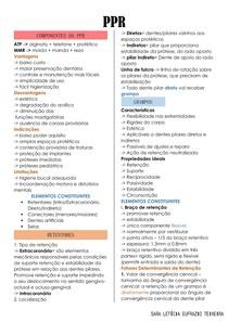 Componentes da PPR