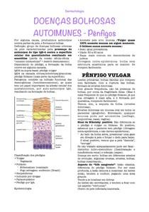Doenças Bolhosas Autoimunes - Pênfigos