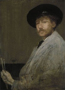 James Mcneill Whistler - Arrangement in Gray - Portrait of the Painter