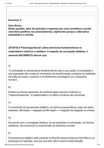 ED RESPONDIDO TEMAS EM PSICOLOGIA SOCIAL (4º semestre)