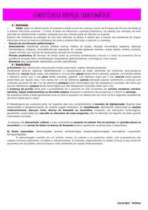 Semiotécnica doenças exantemáticas