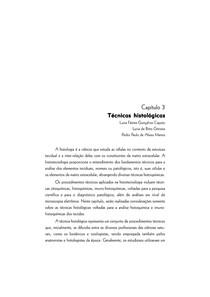 técnicas de coleta de material histológico