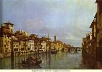 Bernardo Bellotto - Arno em Florença