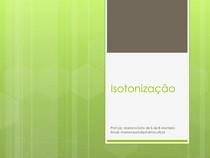 Isotonização