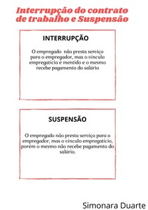 Interrupção do contrato de trabalho e Suspensão (1)