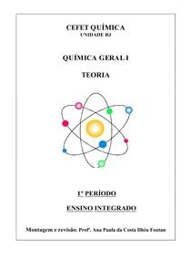 Apostila Química CEFET 1P Teoria