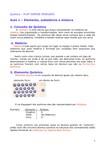 Química 01 Elemento substância e mistura