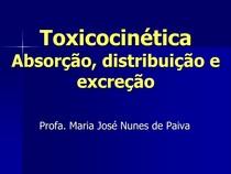A5 Fases da Exposição e Toxicocinética