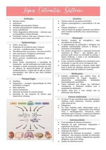 Lúpus Eritematoso Sistêmico e SAF