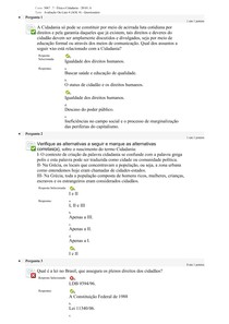 AOL 4    ÉTICA E CIDADANIA UNINASSAU