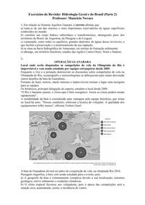 Hidrologia Geral e do Brasil - parte 2