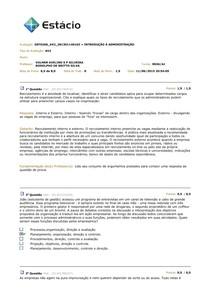 AV2 - Introdução à Administração
