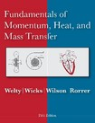 Welty Fundamentals Momentum Heat Mass Transfer 5th