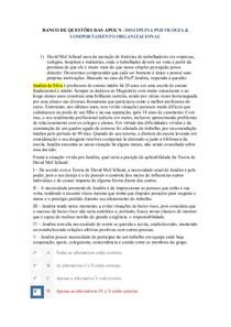 banco das apols 01 02 03  psico e comport organizacional