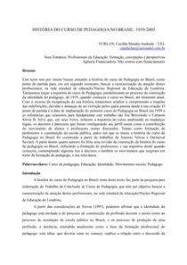 Texto 3  historia do curso de pedagogia no Brasil