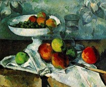 Paul Paul Cézanne - Still Life with Compotier
