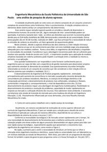 Artigo Introdução Mecatronica
