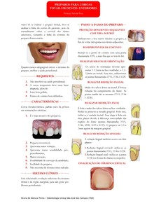 Resumo - Preparo Coroa Total em Dentes Anteriores