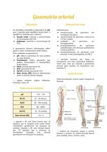 Urgência e emergência: gasometria arterial