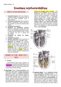 Resumo - Fisiologia Cardiocirculatória