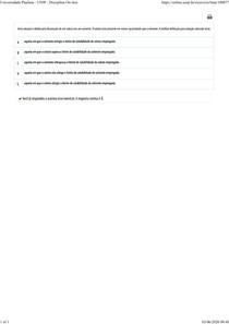 434X - MAT DE CONST MEC APLICADA 1 - Disciplina Online