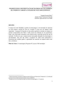 artigo programa 5S comercio varejista