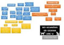 Anti-inflamatórios Não Esteroidais - AINEs   Mapa Mental