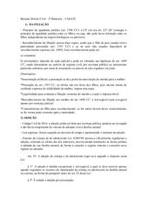 Resumo Direito Civil 2 BIMESTRE CASATI