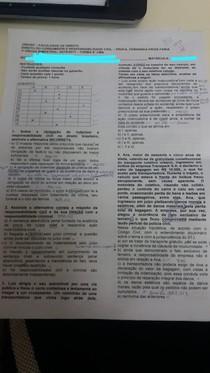 Prova Frois Consumidor UNIVAP