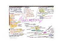 PNEUMONIA - mapa mental